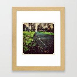Swords Park - Instagram Framed Art Print