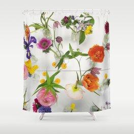 Spring Flowers - JUSTART (c) Shower Curtain