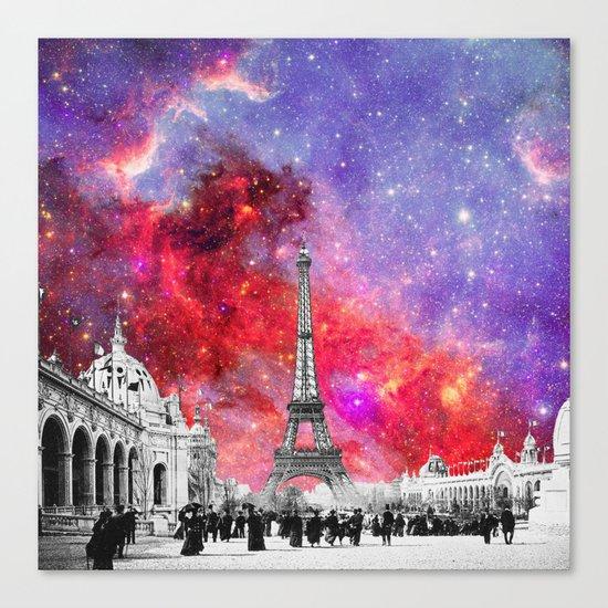 NEBULA VINTAGE PARIS Canvas Print