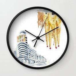 Madrid-Barcelona Wall Clock