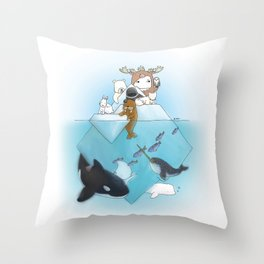arctic Throw Pillow