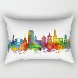 Rostock Germany Skyline Rectangular Pillow