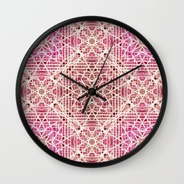 Abstract pattern. Wall Clock