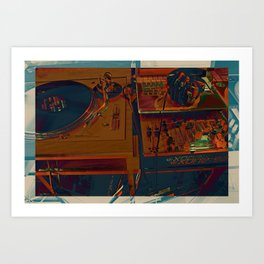 Pancake Mix 2 Art Print