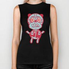 Panda Love Biker Tank