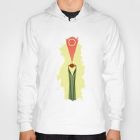 lord of the rings Hoodies featuring Lord of the Rings Minimal Film Poster by Barrett Biggers