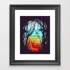 Lost In My Dreams Framed Art Print