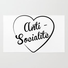Anti-Socialite Rug