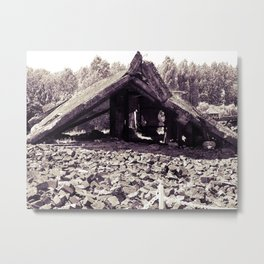 A Ruin with Millions of Secrets Metal Print