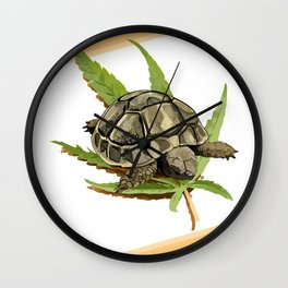 Happy Turtle Wall Clock