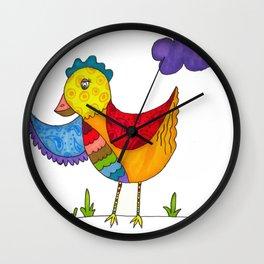"""""""Chicken"""" Wall Clock"""