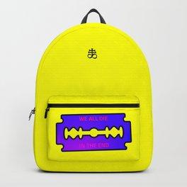 We all die in the end Backpack