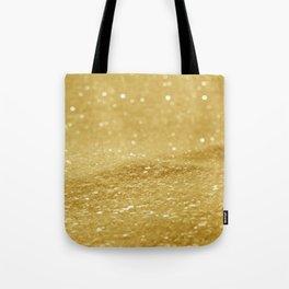 Glitter Gold Tote Bag