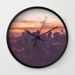 California, Los Angeles, beach, seaside, ocean, surf, downtown, Cali, SoCal Wall Clock