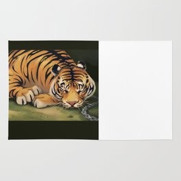 Tiger in Waiting Rug