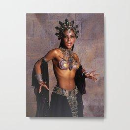 Aaliyah poster wall art home decor photo print Metal Print