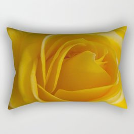 Yellow Rose of California Rectangular Pillow