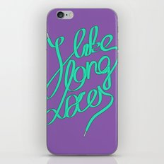 Laces Girly iPhone Skin