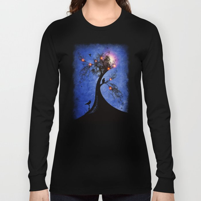 Raven christmas II - HOLIDAZE Long Sleeve T-shirt