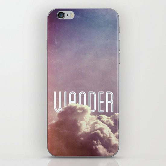 Wander (square) iPhone & iPod Skin