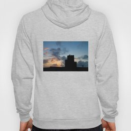 O'Brien's Tower, Cliffs of Moher, County Clare, Ireland Hoody