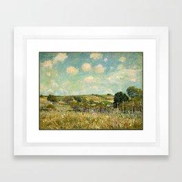 Alfred Sisley, landscape Framed Art Print