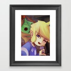 TLOZ: Let's explore! Framed Art Print