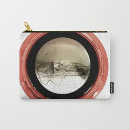 Circle Red Carry-All Pouch