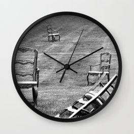 Dining Room Chairs Wall Clock