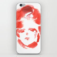 Red Ace iPhone & iPod Skin