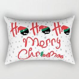 ho ho ho little santa Rectangular Pillow
