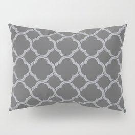 Grey Trellis Pillow Sham