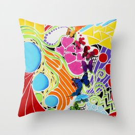 My Soul Song Throw Pillow