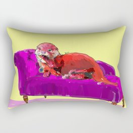 Tytanic Otter Rectangular Pillow