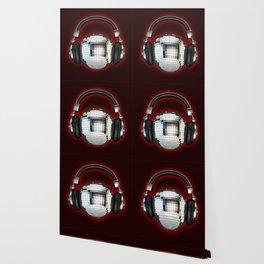 Headphone disco ball Wallpaper
