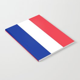 Flag of France, Authentic color & scale Notebook