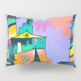 Ladders in the Sky Pillow Sham