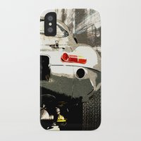 1975 iPhone & iPod Cases featuring Jaguar E-TYpe by Fernando Vieira