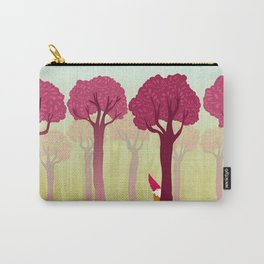 colorful forest with cute dwarf Carry-All Pouch
