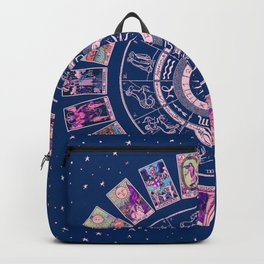 Major Arcana & Wheel of the Zodiac | Pastel Goth Backpack