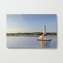 Light house at Mackinac Island - Michigan Metal Print
