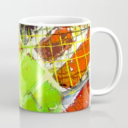 Modern Tennis art 5 Coffee Mug