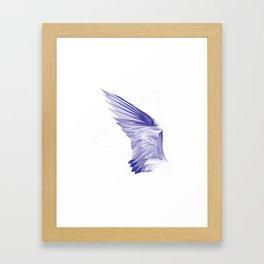 Crystal Wing by Fernanda Quilici Framed Art Print