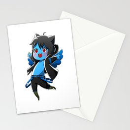 Chibi Luc (Expression 1) Stationery Cards