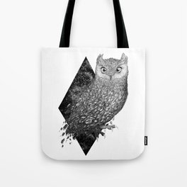 Cosmic Owl Tote Bag