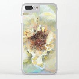Coastal Rose Clear iPhone Case