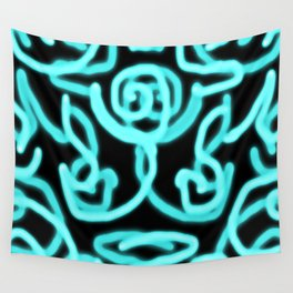 Neon mess Wall Tapestry