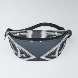Ceramic Fishes Fanny Pack