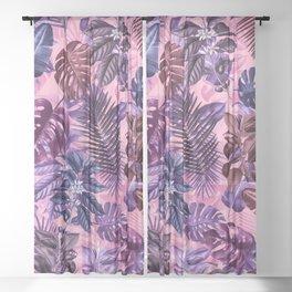 TROPICAL GARDEN VI Sheer Curtain