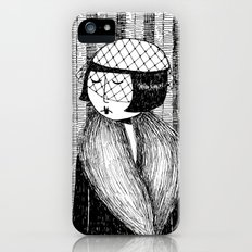 She thought of her cats and wished she was home iPhone (5, 5s) Slim Case